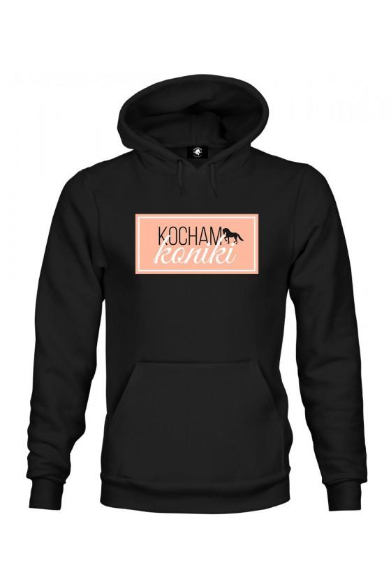 Bluza z kapturem Kocham Koniki