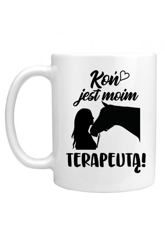 Kubek Koń jest moim terapeutą