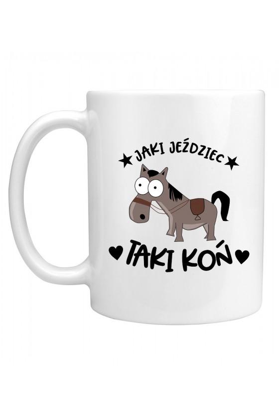 Kubek Jaki jeździec taki koń
