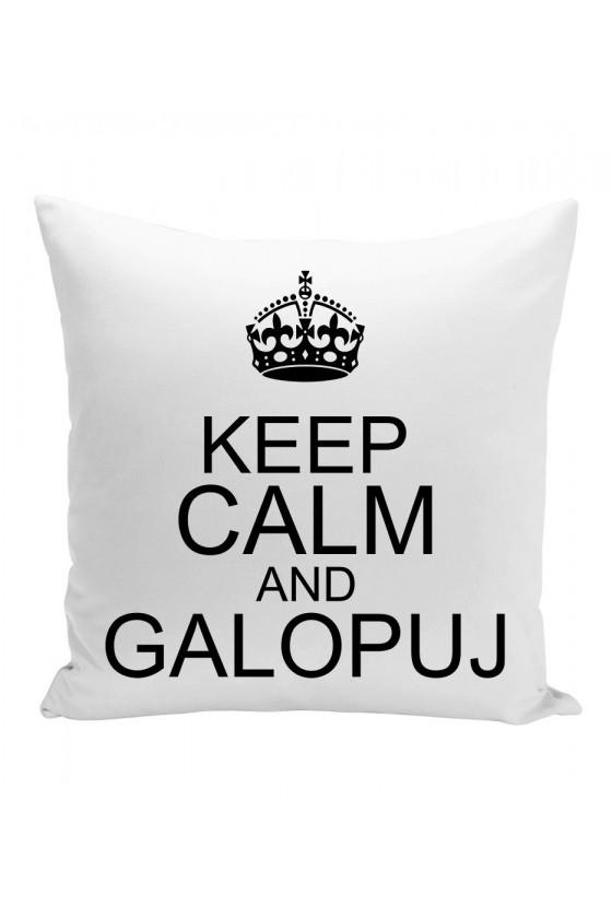 Poduszka Keep calm and galopuj