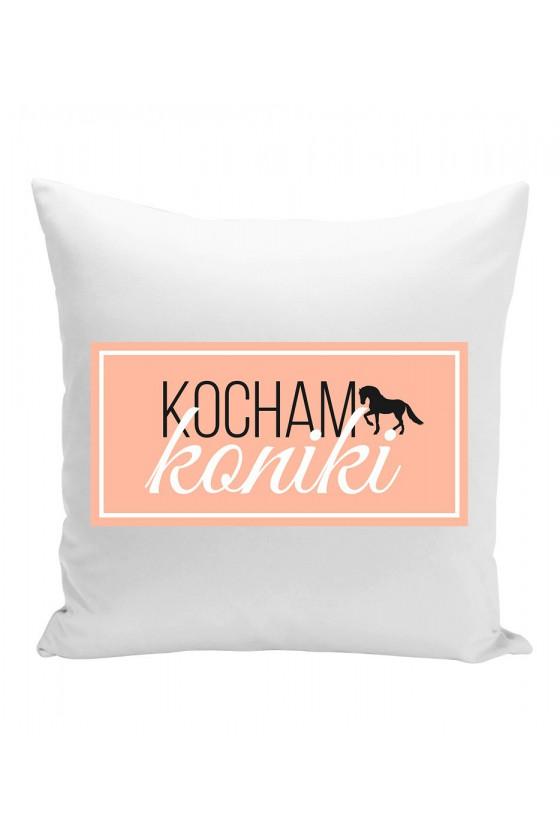 Poduszka Kocham Koniki