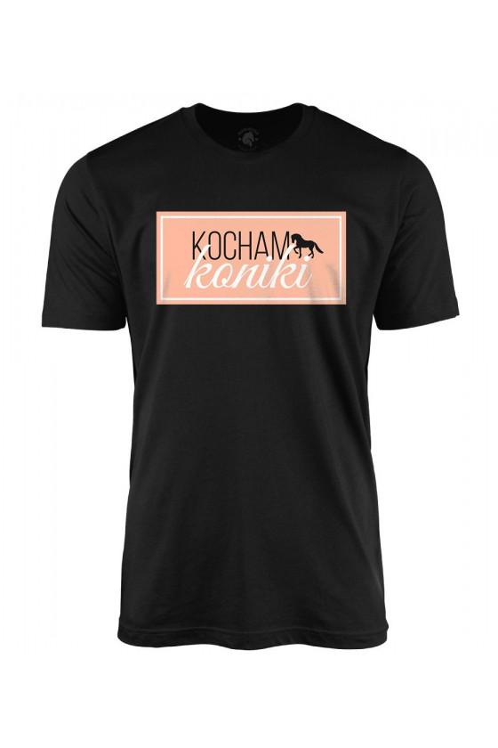 Koszulka męska Kocham Koniki