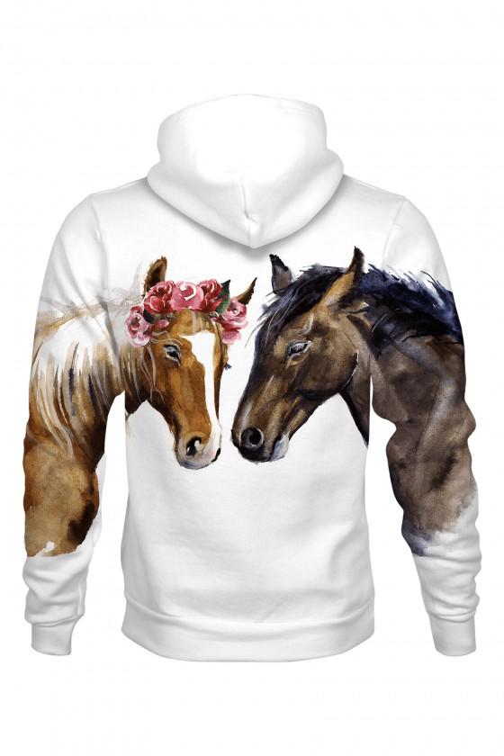 Bluza bawełniana Konie