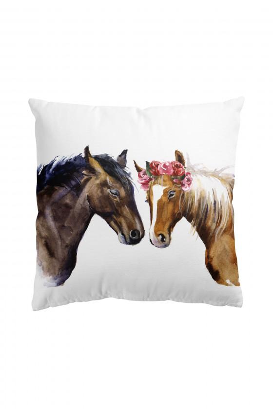 Poduszka Premium Dwa Konie