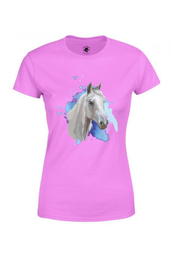 Koszulka damska Siwy