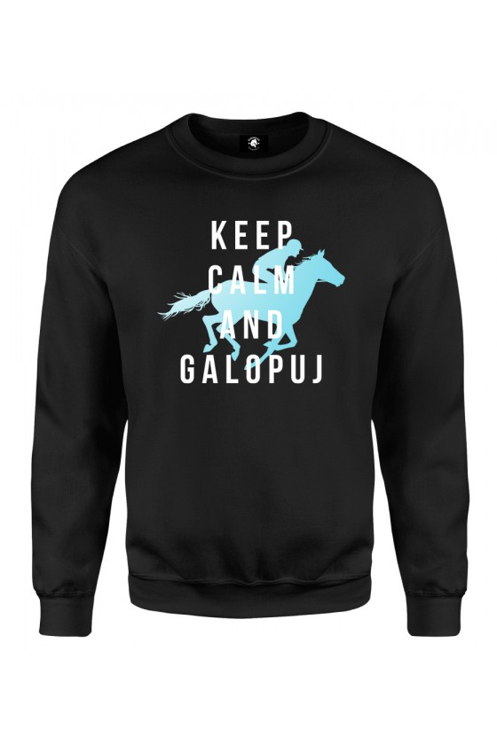 Bluza klasyczna Keep Calm And Galopuj 2