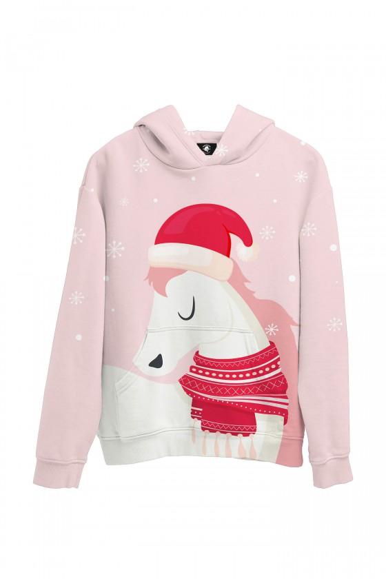Bluza bawełniana Koń i zima
