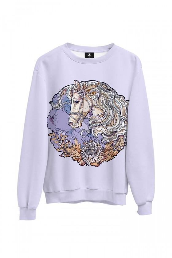 Bluza bawełniana klasyczna Koń vintage