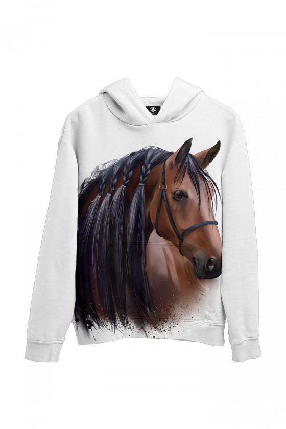 Bluza bawełniana Majestat koni