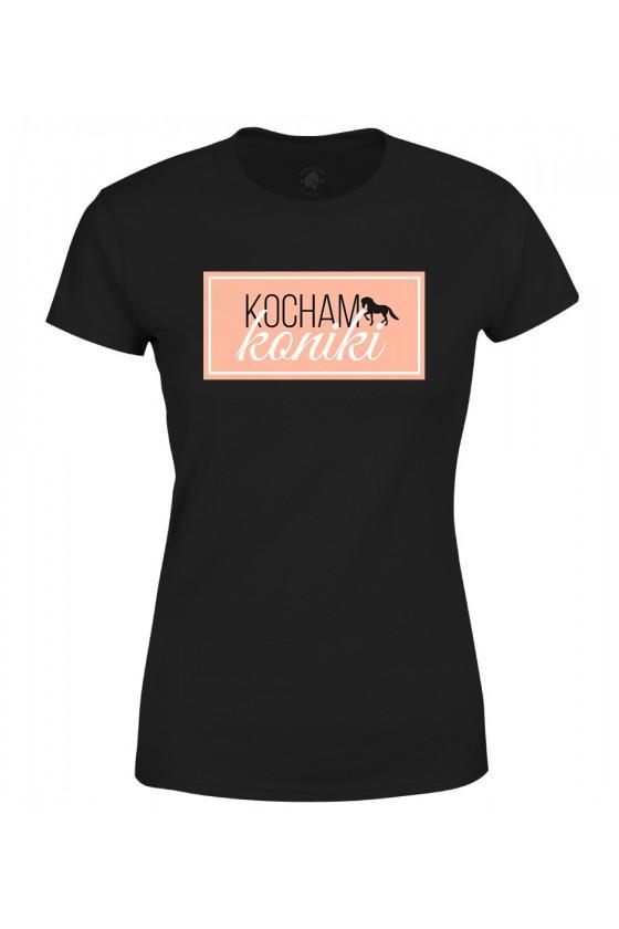 Koszulka damska Kocham Koniki