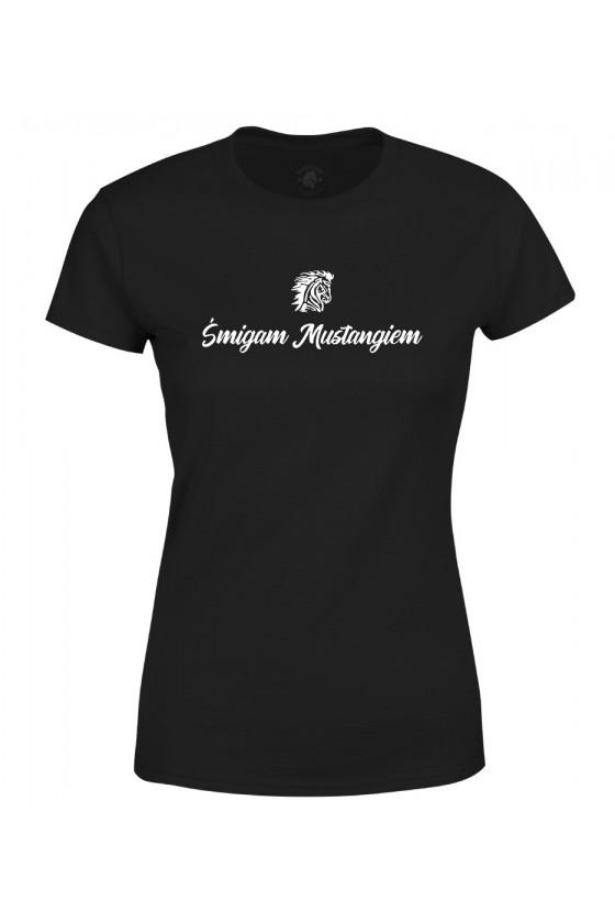 Koszulka damska Śmigam mustangiem