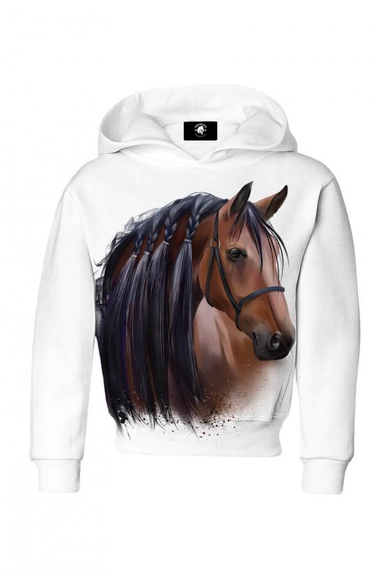 Bluza dziecięca bawełniana Majestat koni