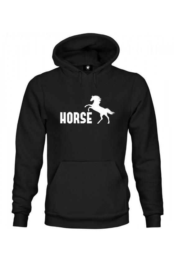 Bluza z kapturem Horse