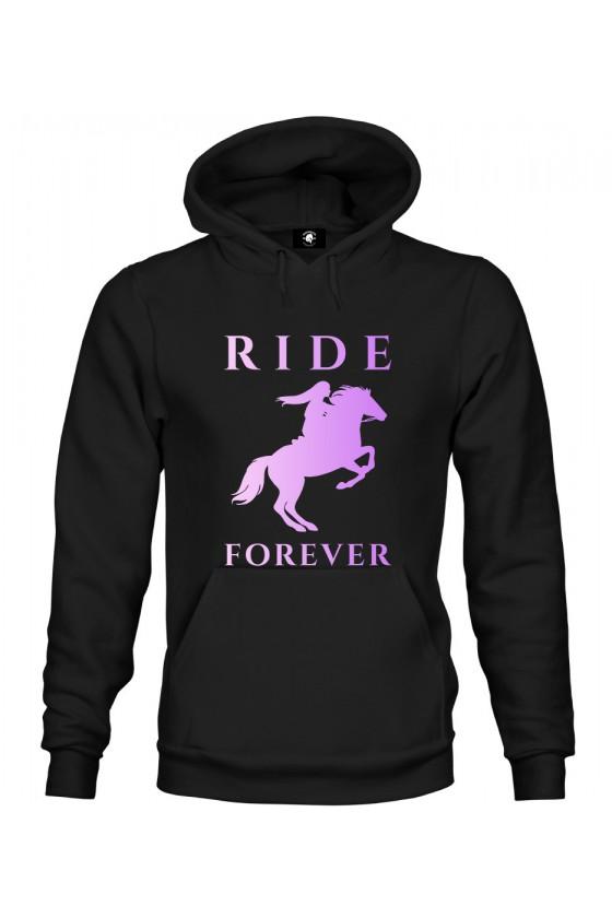 Bluza z kapturem Ride Forever Violet