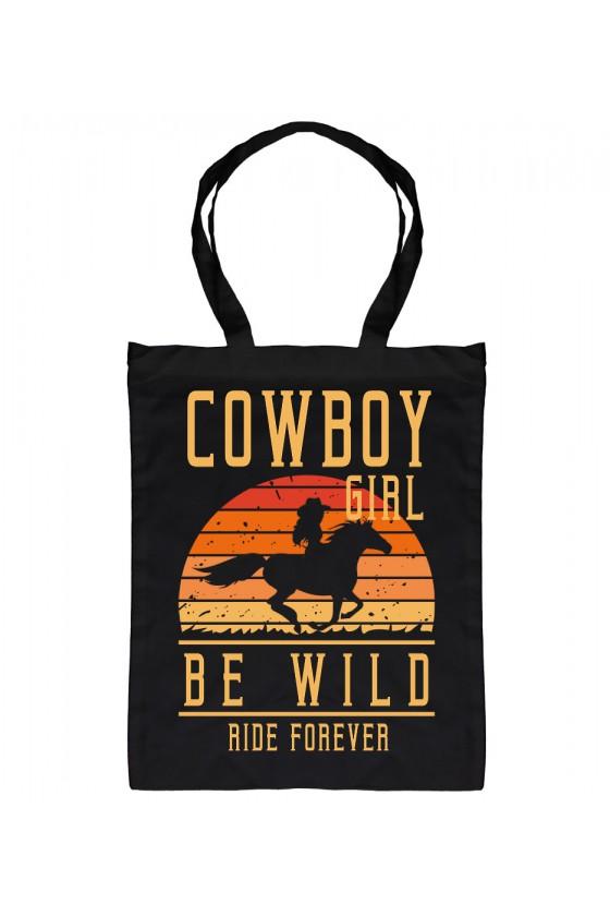 Torba Bawełniana Cowboy Girl