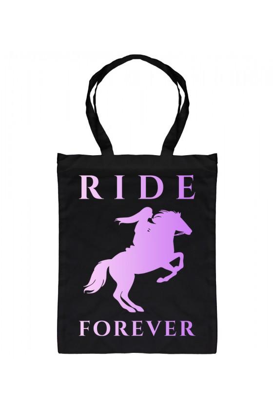 Torba Bawełniana Ride Forever Violet
