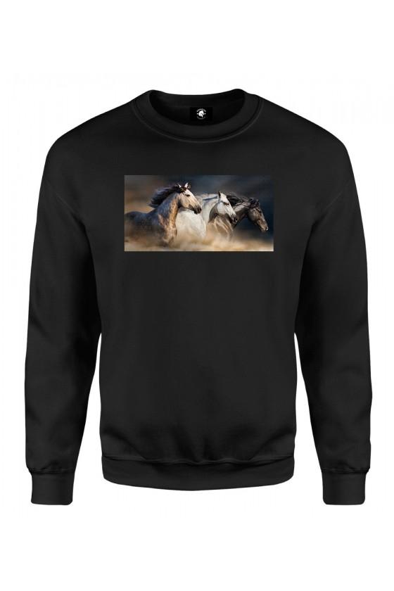 Bluza klasyczna Jak konie w galopie