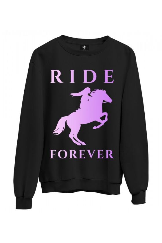 Bluza klasyczna Ride Forever Violet