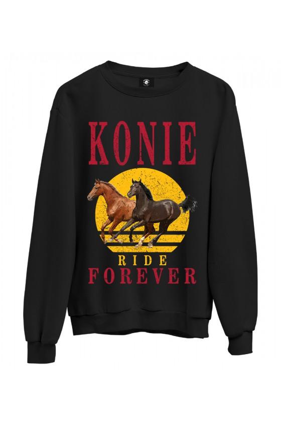 Bluza klasyczna Konie Ride Forever