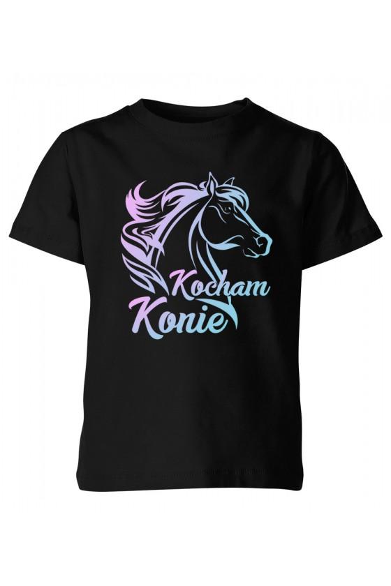Koszulka dziecięca Kocham konie