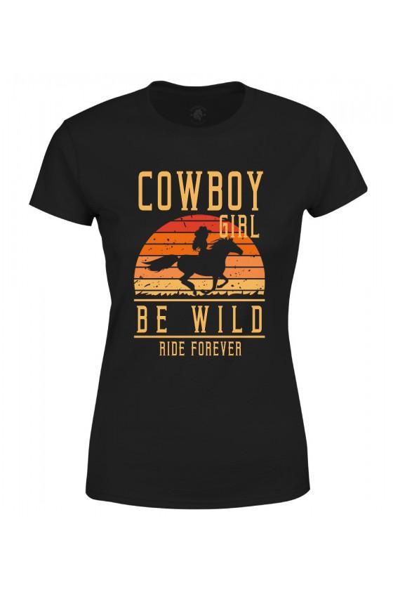 Koszulka damska Cowboy Girl