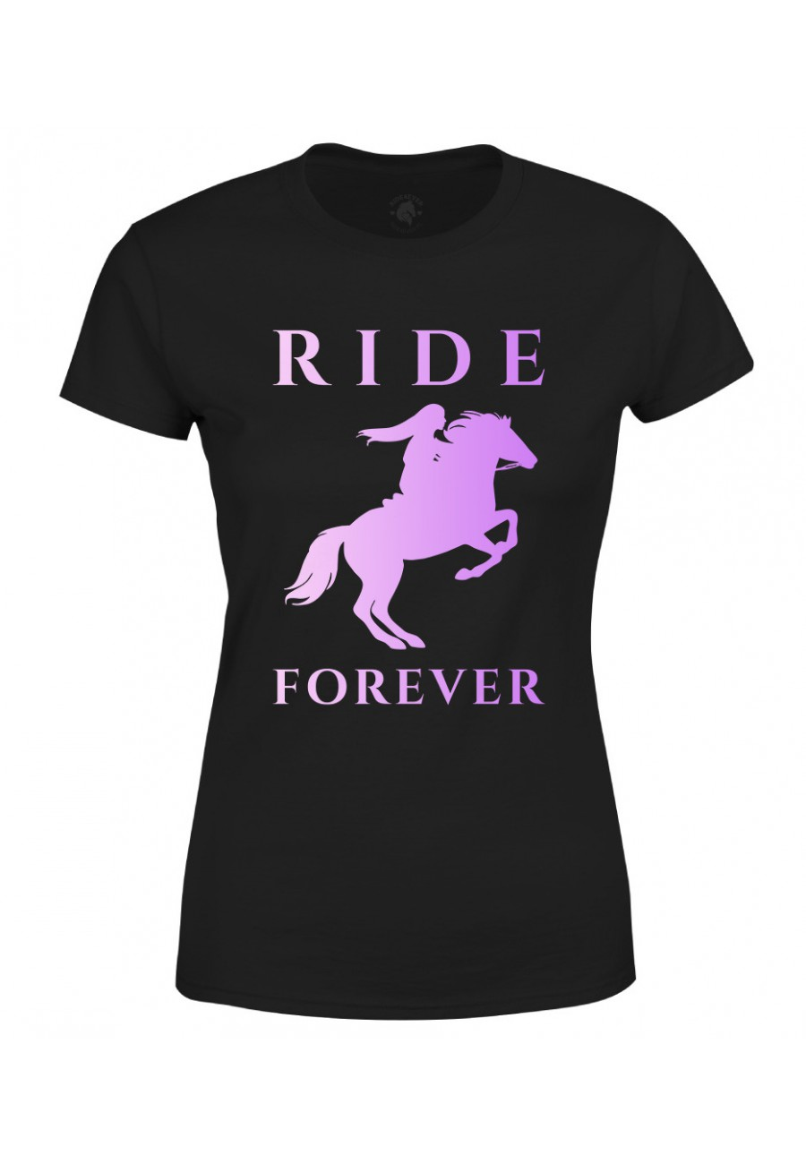 Koszulka damska Ride Forever Violet